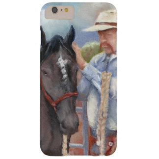 Cowboy with black colt barely there iPhone 6 plus case
