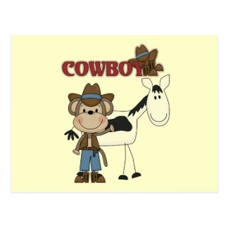 Cowboy With Horse Tshirts and Gifts Postcard