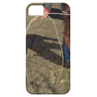 Cowboy with lasso iPhone 5 cover