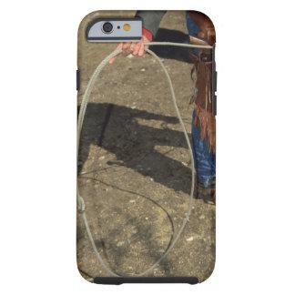 Cowboy with lasso tough iPhone 6 case