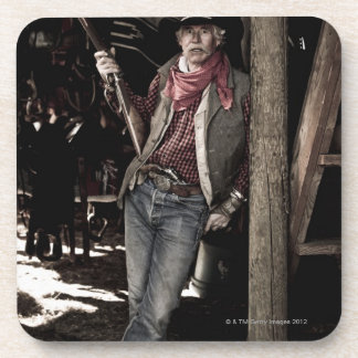 Cowboy with Pistol and Rifle Coaster