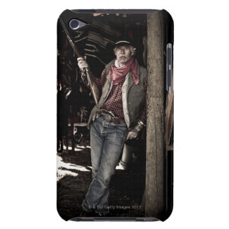 Cowboy with Pistol and Rifle iPod Touch Covers