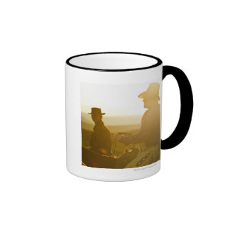 Cowboys 5 ringer mug