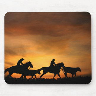 Cowboys and Cattle Mouse Pad
