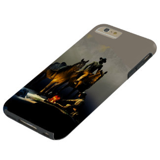 Cowboys and Horses Tough iPhone 6 Plus Case