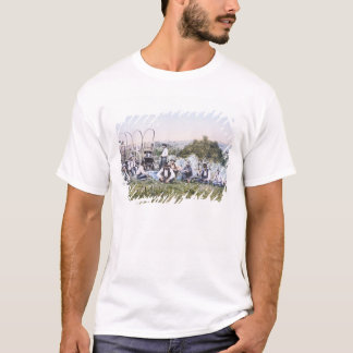 Cowboys at Lunch, 1904 (photo) T-Shirt