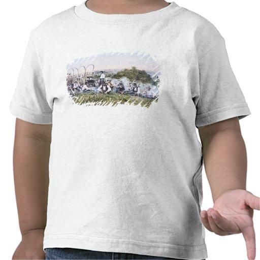 Cowboys at Lunch, 1904 (photo) T Shirt