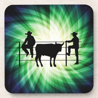 Cowboys at Ranch; Cool Drink Coasters