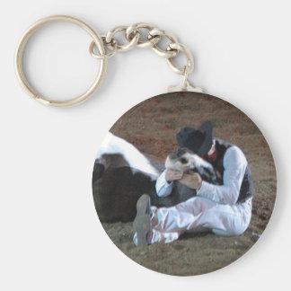 Cowboy's Best Friend - keychain