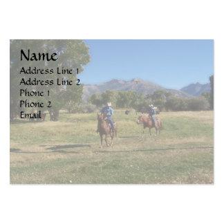Cowboys Business Card Templates