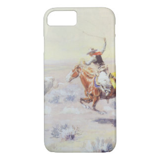 Cowboys from the Bar Triangle by CM Russell iPhone 7 Case