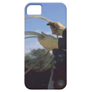 Cowboy's hands with lasso barely there iPhone 5 case