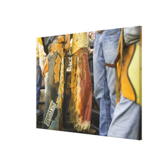 Cowboys in Chaps Stretched Canvas Print