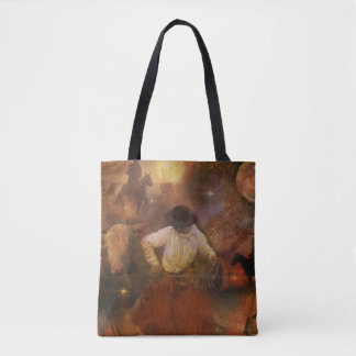 Cowboys - Leather Boots, Wild Horses & Western Sun Tote Bag