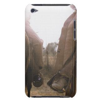 Cowboys Riding Horses iPod Case-Mate Case