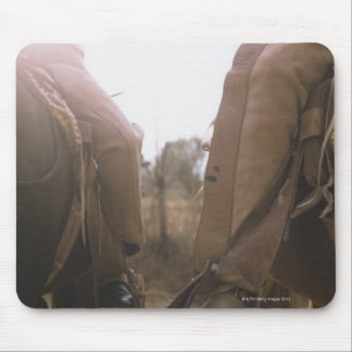 Cowboys Riding Horses Mouse Pad