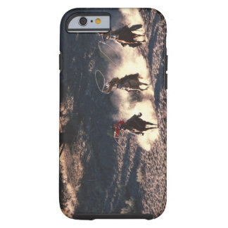 Cowboys riding tough iPhone 6 case