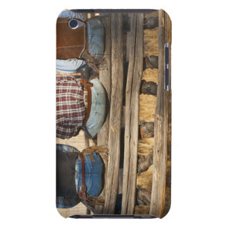 Cowboys sitting on fence Case-Mate iPod touch case