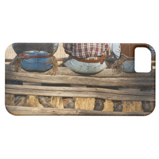 Cowboys sitting on fence iPhone 5 cover
