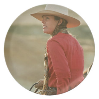 Cowgirl 4 plate