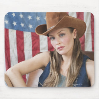 Cowgirl 5 mouse pad