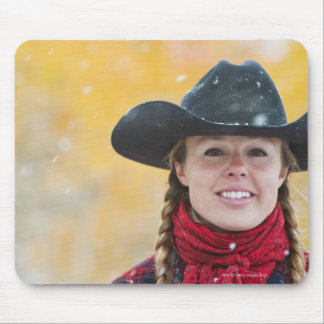 Cowgirl 6 mouse pad