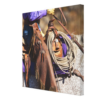 Cowgirl 7 canvas print