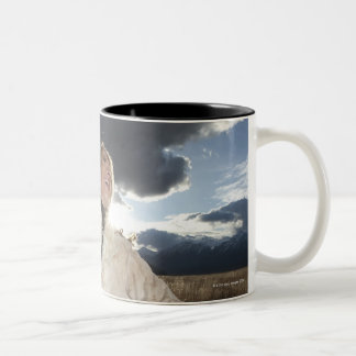 Cowgirl 8 Two-Tone coffee mug