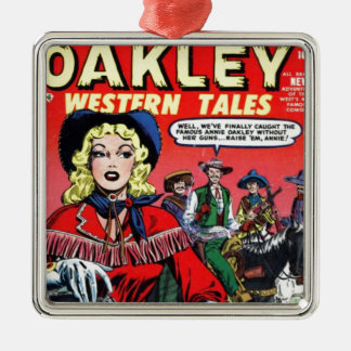 Cowgirl Annie Oakley Christmas Ornament