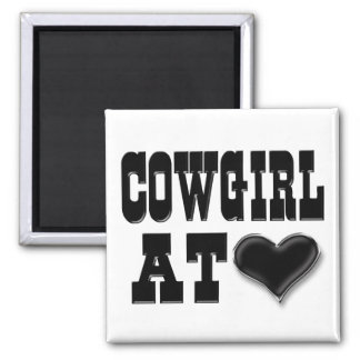 Cowgirl at Heart Magnet