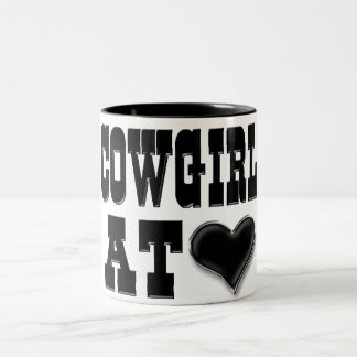 Cowgirl at Heart Mug