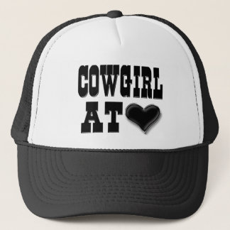 Cowgirl at Heart Trucker Hat