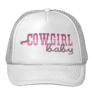 Cowgirl Baby Cap