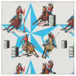 Cowgirl Barrel Racing Pole Bending Rodeo Fabric