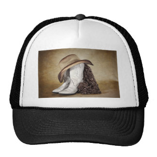 Cowgirl Boot Western Lace Hat