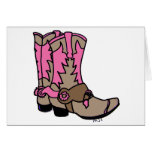 Cowgirl Boots Cards