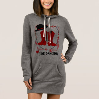 Cowgirl Boots Cute Line Dancing Theme Graphic Dress