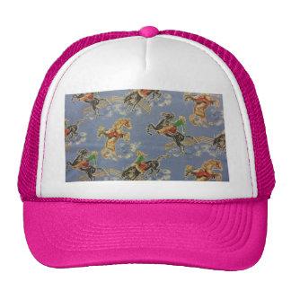 Cowgirl Bronc Rider Trucker Hat