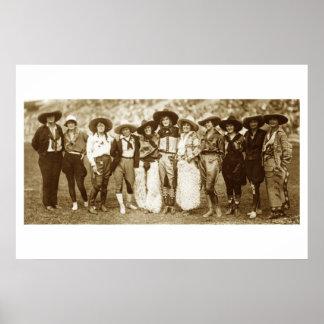 Cowgirl Congress Print