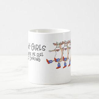 Cowgirl dancers coffee mug