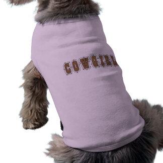Cowgirl Dog - Western Shirt
