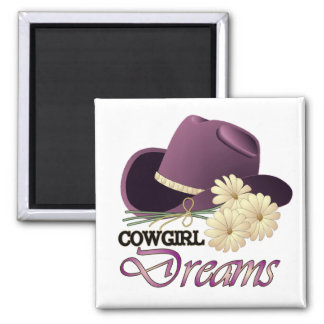 CowGirl Dreams MAGNET