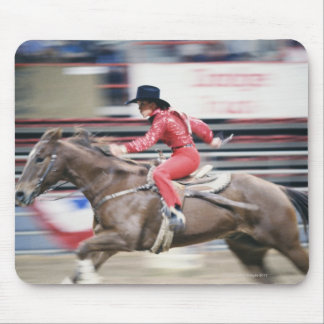 Cowgirl in the Rodeo Mouse Pad