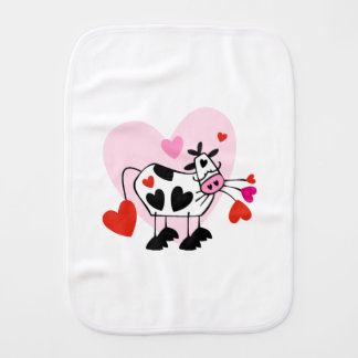 Cowgirl Love Burp Cloth