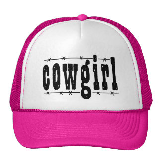 Cowgirl Mesh Hat