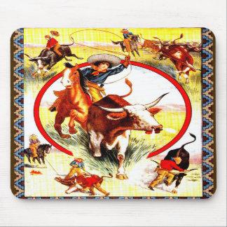 Cowgirl Mousepad