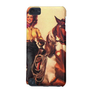 Cowgirl on Her Horse iPod Touch (5th Generation) Cover