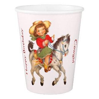 Cowgirl Party Cup