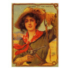 "Cowgirl ""Queen of the Ranch"" Vintage Poster"