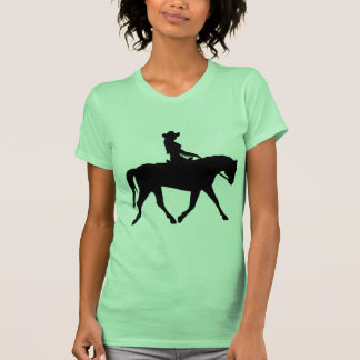 Cowgirl Riding Her Horse Shirts